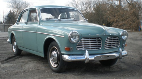 Volvo-Amazon-nebelgruen