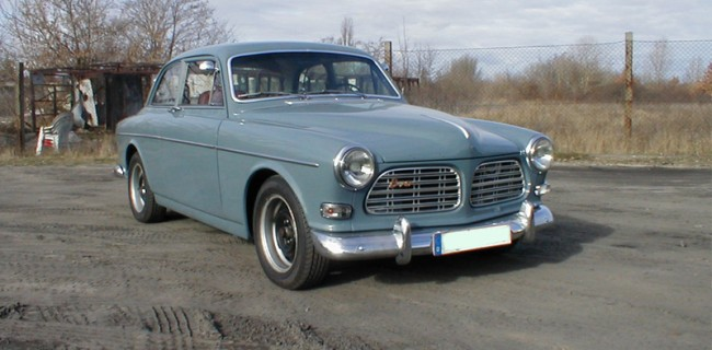 Volvo-Amazon-schieferblau